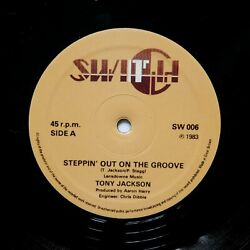 TONY JACKSON quot;Steppin Out On The Groovequot; UK BOOGIE FUNK REISSUE 12quot; $20.99