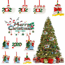 Personalized Diy Christmas 2020 Ornaments Hanging DIY Creative Gift for Family $5.98