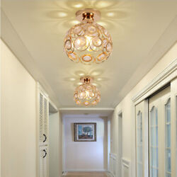 Mini Chandelier Crystal Modern Ceiling Pendant Lighting Fixture Hanging Lamp $27.98