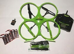 UDI RC U818A HD Drone With Controller Extra Batteries Replacement Parts $13.99