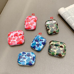 For Apple Airpods Pro Charging Case Hard PC Protection Cover Floral Flower Cute $8.79