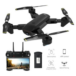 SG700 Drone With Double Camera Quadcopter FPV FoldableBattery Controller RC1210 $50.18