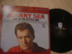 JOHNNY SEA live at the bitter end nm stereo lp on PHILIPS 1965 $9.95