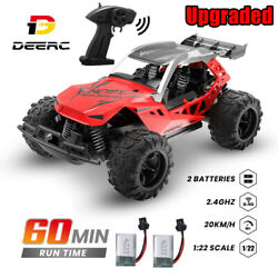 DEERC RC Car 1:22 Remote Control Racing Monster Trucks High Speed Off Road Kids $28.95