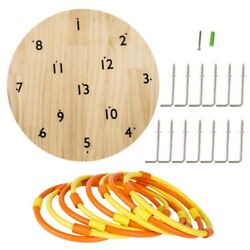 US Hookey Ring Toss Game Safer Than Darts Funny Outdoor Games Toy for Family $43.99