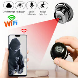 Wireless Mini WiFi IP Camera HD1080P Smart Home Security Night Vision DVR Indoor $15.99
