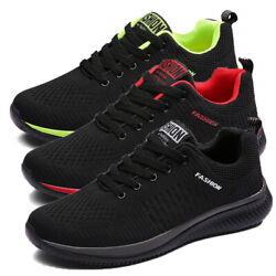 Men#x27;s Sneakers Outdoor Walking Sports Athletic Casual Running Tennis Shoes Gym $21.99