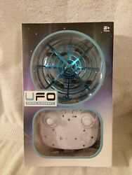 ufo shine air craft drone remote toy blue new. equipped with 5 led lights $10.00