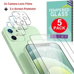 Tempered Glass Screen Protector Camera Lens Film For iPhone 12 Pro Max Mini 12 $9.97