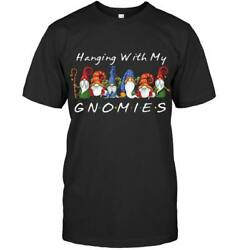 Hanging With My Gnomies Black T Shirt $20.99