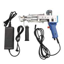Electric Loop pile Type Carpet Weaving Machine Hand Tufting Gun Rug Making NEW $146.99