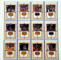 2000 Upper Deck Michael Jordan Jumbo Final Floor Set 1 12 $1000.00