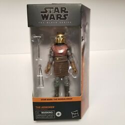 Star Wars The Armorer Mandalorian Black Series 6quot; Action Figure IN HAND $39.97