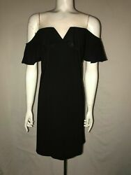 CHIASSO BLACK COCKTAIL EVENING PARTY DRESS SIZE MEDIUM $16.99