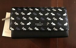 Radley London Multi Dog Large Flapover Wallet $47.50