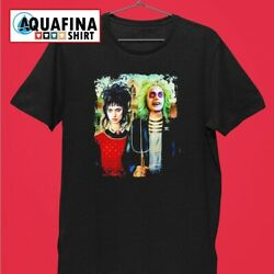 American Beetlejuice Gothic and Lydia T shirt