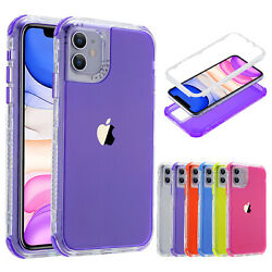 Case For Apple iPhone 12 Pro Max 12 Mini 11 8 7 6 Shockproof Hybrid Bumper Cover $9.49