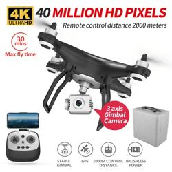 X35 GPS RC Drone 5G WiFi 4K HD Camera Profissional RC Quadcopter Brushless Motor $235.99