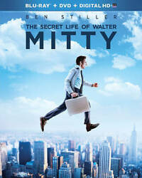 The Secret Life of Walter Mitty Blu ray $4.99