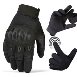 Outdoor Sports Touch Screen Military Tactical Gloves Motorcycle Gloves Black US $8.99