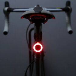Multi Lighting Modes Bicycle Light USB Charge Led Bike Light Flash Tail Rear New $8.72