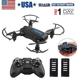 Mini FPV Drone Foldable Drone RC Quadcopter with Altitude Hold Headless Mode $29.98