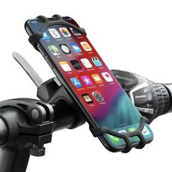 High Quality Silicone Bicycle Phone Holder For iPhone Universal Motorcycle Bike $15.99