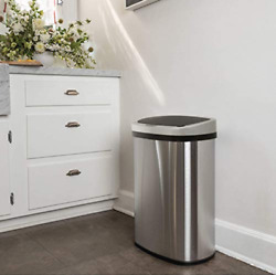 13 Gallon Automatic Kitchen Trash Can for Bathroom Bedroom Home Office $58.99