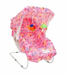 11x1 Baby Carry Cot Cum Bouncer Chair Baby Chair Rocker pink color may vary $123.99