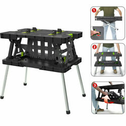 Keter Folding Work Table with Mini Clamps $75.40