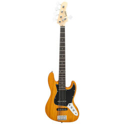 Gjazz Electric 5 String Bass Guitar with Full Size Bag $98.99