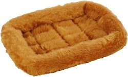 Pet Bed Dog Beds Ideal for Metal Dog Crates Machine Wash amp; Dry Cinnamon $9.99