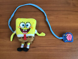 Nickelodeon Sponge bob And Gary Plush Connected Toy $7.90