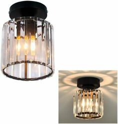 Modern Ceiling Lamp Crystal Chandelier Hanging Light Pendant Lighting Fixture $25.99