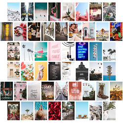 Wall Collage Kit Aesthetic Pictures Bedroom Decor For Teen Girls Wall Collage $7.99