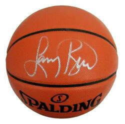 Larry Bird Signed Auto Celtics Spalding Game Full Size Basketball Beckett 156987 $239.00