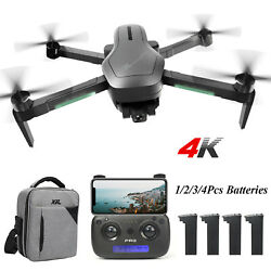 Holy Stone HS470 Foldable Drone with 4K HD Camera RC Quadcopter Brushless Bag $179.95