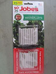 Fertilizer Spikes For Houseplants Jobes # 05001T 50 Spikes NEW $3.19