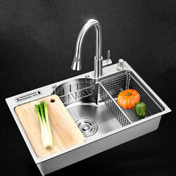 Multi Kitchen Sink Single Bowl Above Counter Under mount Stainless Steel $345.00