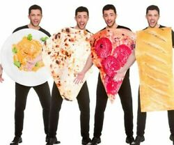 Novelty Adults Food Costume Mens Ladies Stag Fancy Dress Curry Sausage Roll Naan $32.43