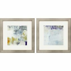 Paragon Contemporary Set Of 2 Wall Art With Multi Finish 13298 $204.44