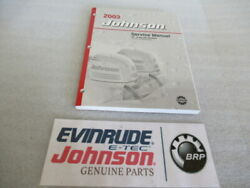 2003 Johnson Outboards ST 2 Stroke 55 WRL Commercial Service Manual P N 5005483