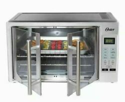 Oster Digital French Door Countertop Oven Turbo Convection Free Shipping $129.99