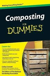 Composting For Dummies Cromell Cathy Good Book 0 Paperback $8.36