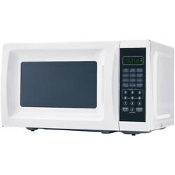 Mainstays 0.7 Cu. Ft. 700W countertop white Microwave with 10 Power Levels $65.65
