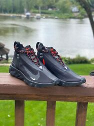 Nike React Runner Mid WR ISPA Black AT3143 001 Size 4 Mens $49.99