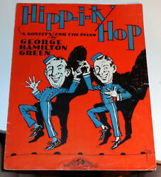 Hipp i ty Hop A Novelty for the Piano Sheet Music Dancing Bellboy Cover 1929 $20.00
