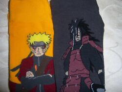 2 PAIR MENS ladies plus NOVELTY socks NARUTO $15.99