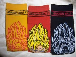 3 PAIR MENS ladies plus NOVELTY socks DRAGON BALL Z $19.99