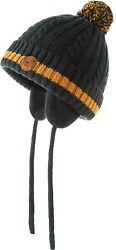 AHAHA Baby Winter Hat Unisex Knitted Pompom Cotton Earflap Hat for Baby Boys a $11.38